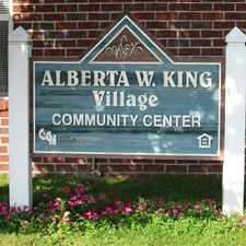 Rental info for Alberta W. King Village
