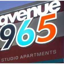 Rental info for Avenue 965
