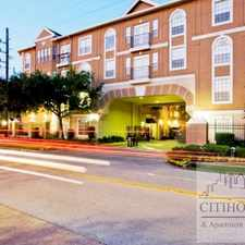 Rental info for Woodway Dr & Fountain View Drive in the Houston area