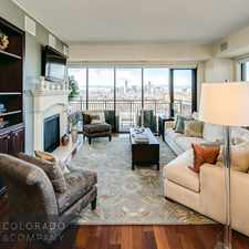 Rental info for 1650 Fillmore Street #1107 in the City Park area
