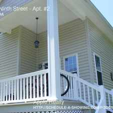Rental info for 1013 Ninth Street in the Durham area