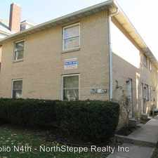 Rental info for 1702 1712 N 4th in the Indianola Terrace area