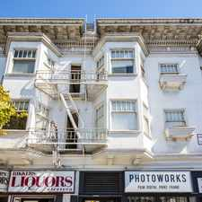 Rental info for 2079 MARKET Apartments in the Duboce Triangle area