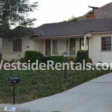 Rental info for Charming Home For Lease In Briggs Terrace! in the La Crescenta-Montrose area
