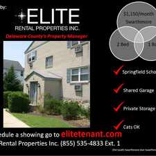 Rental info for 354 South Swarthmore Avenue