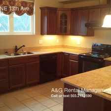 Rental info for 5503 NE 13th Ave in the Vernon area