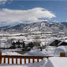 Rental info for Steamboat House 3BR 2.5 BA Sunny Great views $3900