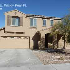 Rental info for 1550 E. Prickly Pear Pl.