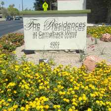 Rental info for The Residences at Camelback West