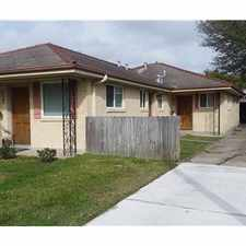Rental info for Double in Old Metairie in the New Orleans area