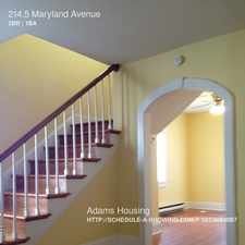 Rental info for 214.5 Maryland Avenue