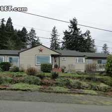 Rental info for $4200 4 bedroom House in Portland Southwest in the Arnold Creek area