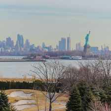 Rental info for Port Liberte top of the world condo with exquisite views of NYC, Statue, and Hudson River...Location, location, location