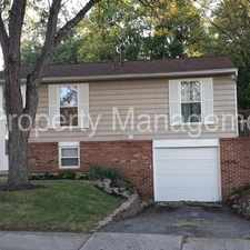 Rental info for Gorgeous 3 Bedroom 2 Bath Single Family Home Located In West Columbus