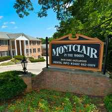 Rental info for Montclair In The Woods in the Westwood area
