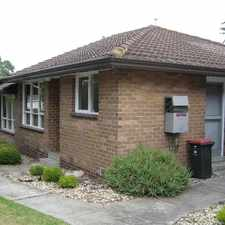Rental info for COSY AND COMFORTABLE UNIT in the Melbourne area