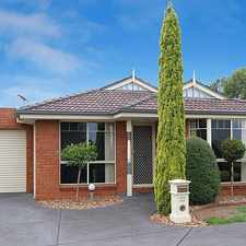 Rental info for Immaculately presented and very affordable!! in the Mill Park area
