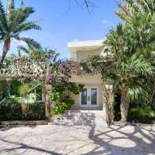 Rental info for Timeless Waterfront Masterpiece on Prestigious Upper North Bay Road in the Miami Beach area