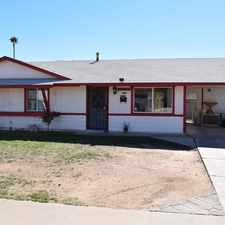 Rental info for Phoenix- 6513 W Granada RD. Phoenix, AZ 85035 in the Phoenix area