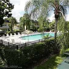 Rental info for 1/1 apartment at Village Park at Oakland in the Fort Lauderdale area