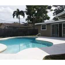 Rental info for Single family home in the Davie area