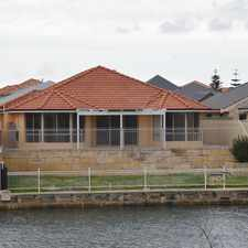 Rental info for LOVELY CANAL HOME IN WANNANUP WITH 1 WEEKS FREE RENT in the Dawesville area