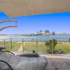 Rental info for FULLY FURNISHED HARBOUR FRONT APARTMENT!