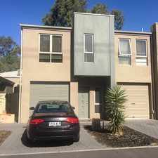 Rental info for Brand new townhouse in a great location in the Adelaide area