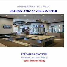 Rental info for Brand New Spectacular 2/2 w/ garage in the Pembroke Pines area