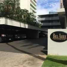 Rental info for 2015 Ala Wai Blvd APT 2A, Honolulu