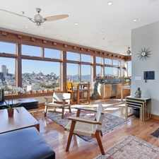 Rental info for $9999 3 bedroom Apartment in North Beach in the Telegraph Hill area