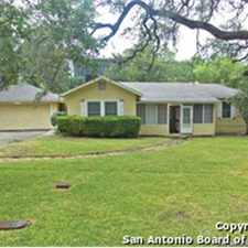 Rental info for 1 STORY HOME RIGHT IN THE THE MEDICAL CENTER! in the San Antonio area