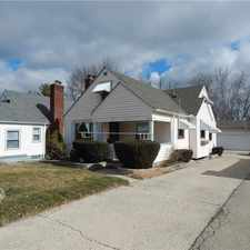 Rental info for 342 Bungalow Dayton, OH 45417 Well Kept Home With 3 Car Detached Garage!