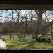 Rental info for Guadalupe River house, huge master suite, office