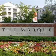 Rental info for The Marque at Heritage Hunt