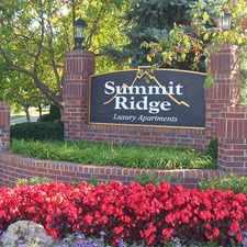 Rental info for Summit Ridge Apartments
