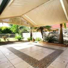 Rental info for WATER INCLUDED - Immaculate & Very Spacious - Two Living Areas - Alfresco - Walk to Schools! in the Kuraby area