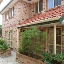 Rental info for SPACIOUS TOWNHOUSE