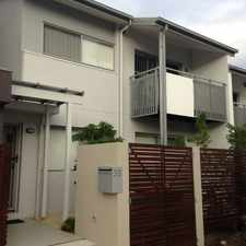 Rental info for BEAUTIFUL TOWNHOME NESTLED WITHIN THE FAIRWAYS OF BROOKWATER!! in the Brisbane area