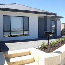 Rental info for BRAND NEW MODERN 3X2 in the Piara Waters area
