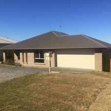 Rental info for Near new home in a brand new estate.... in the Toowoomba area