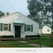Rental info for Wilson, 2 bed, 1 bath for rent. $450/mo