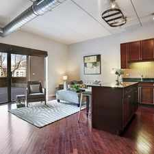 Rental info for JUST LISTED! Heart of Logan Square - 2 bed, 1 bath with 800 sq.ft. private terrace in elevator building
