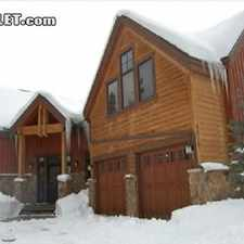Rental info for $4000 3 bedroom House in Summit County Dillon