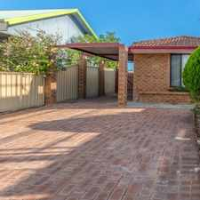 Rental info for WELL SITUATED THREE BEDROOM HOME