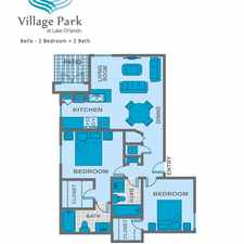 Rental info for Village Park @ Lake Orlando Apartments in the Rosemont area
