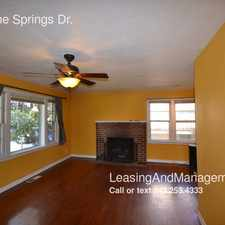 Rental info for 1239 Pine Springs Dr.