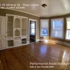 Rental info for 1636 W Mineral St in the Clarke Square area