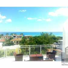 Rental info for 7728 Collins Avenue #8