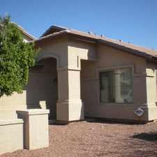 Rental info for House for rent in Buckeye. Single Car Garage!